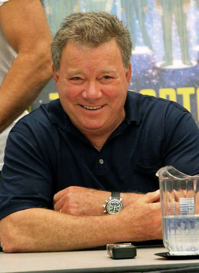 "Comic-con continued on Friday, July 22, 2011, with, among other things, the ""Shatnerpalooza"" Press Conference, featuring original ""Star Trek"" Capt. James T. Kirk actor William Shatner. Photo: Alexandra Wyman, Getty Images / 2011 Getty Images"