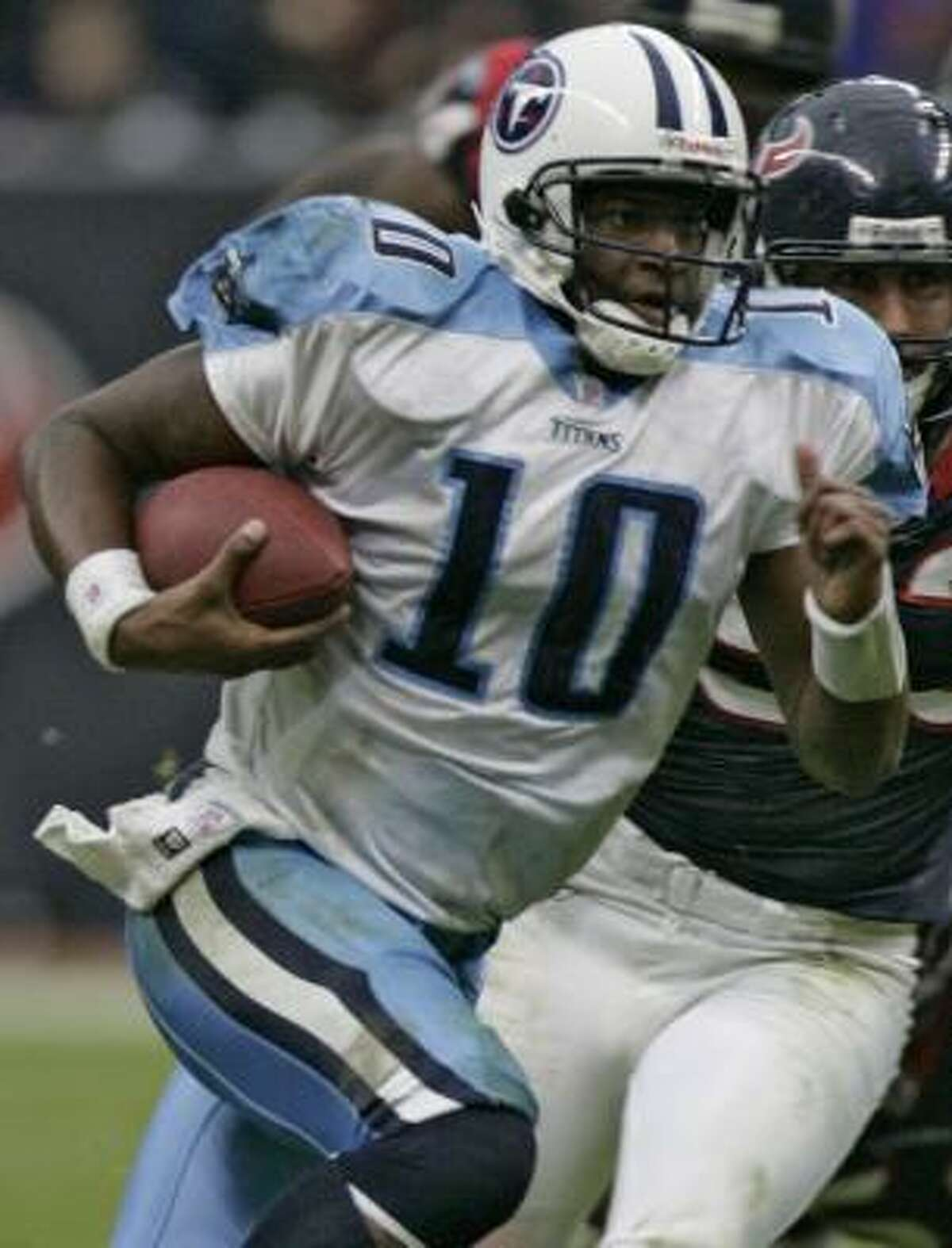 There's no shame in being called a Mama's Boy if you are Titans quarterback Vince Young.