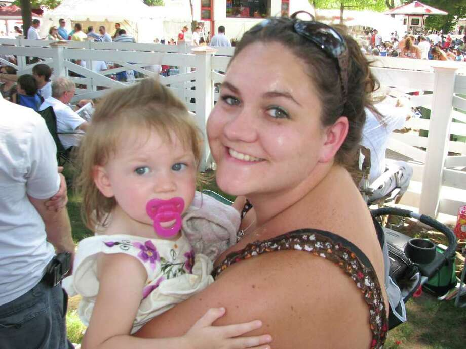 Were you Seen at the track on opening day? Photo: Kristi Gustafson Barlette/Times Union