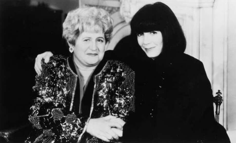 Alice Borchardt, left, and her sister, Anne Rice. Rice was with her sister in Houston when she died. Photo: Chronicle File
