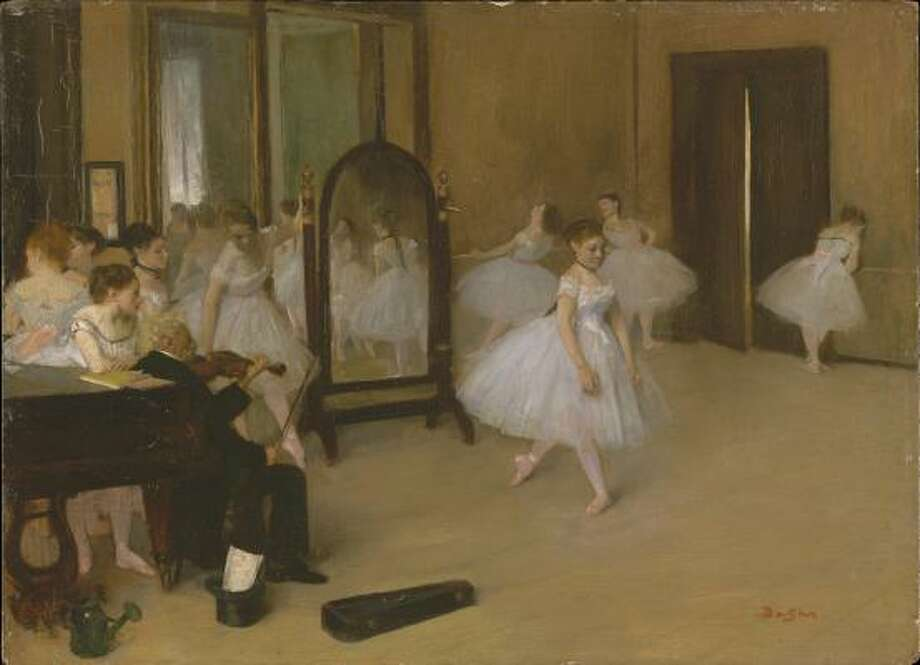 Edgar Degas' The Dancing Class, probably 1871; H.O. Havemeyer Collection, bequest of Mrs. H.O. Havemeyer, 1929. Photo: The Metropolitan Museum Of Art