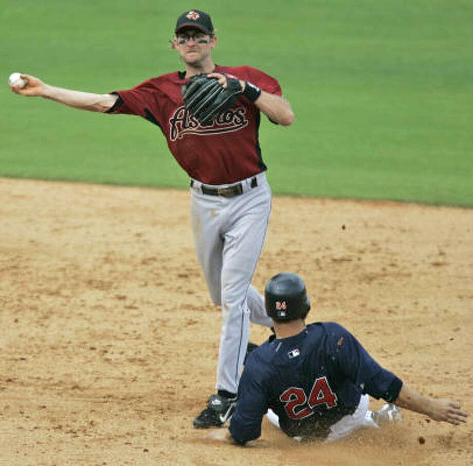Shortstop Adam Everett should be judged for his defense ... and his character. Photo: David J. Phillip, AP