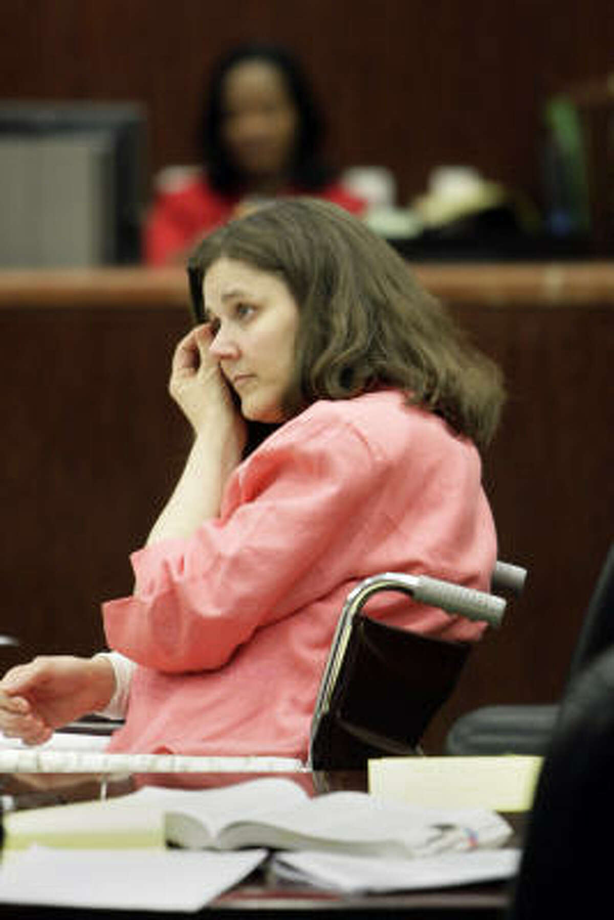 Laurie Williamson faces as much as life in prison after being found guilty today of injury to a child.