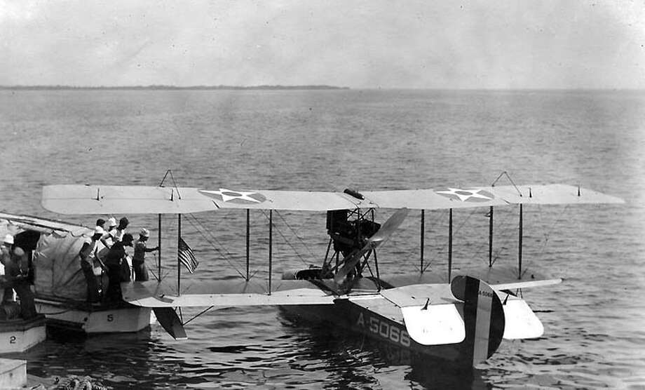 The Aeromarine 40 was a U.S. Navy flying boat that first flew in 1919. Photo: U.S. Naval Historical Center