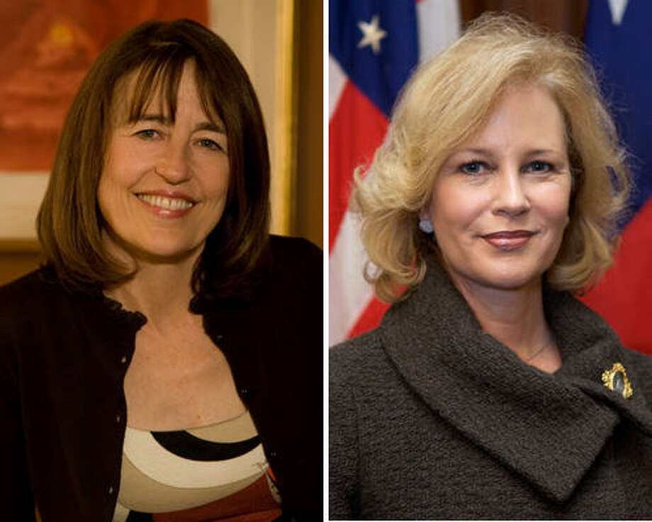 Andrea White, left, and Anita Perry Photo: Photos Provided By Candidates' Campaigns