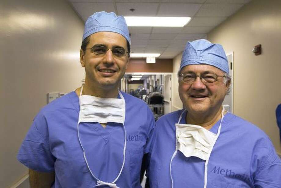 Bariatric surgeons Dr. Garth Davis, left, and his father, Dr. Robert Davis, host TLC's new Big Medicine. Photo: TLC
