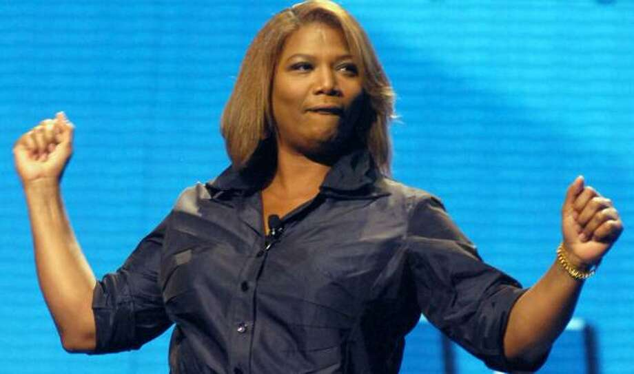 Queen Latifah, singer/actress. She has not spoken much about her sexuality or relationships, but GLBT Californians are celebrating a recent announcement that she'll headline a gay pride festival this month. Photo: April L. Brown, ASSOCIATED PRESS