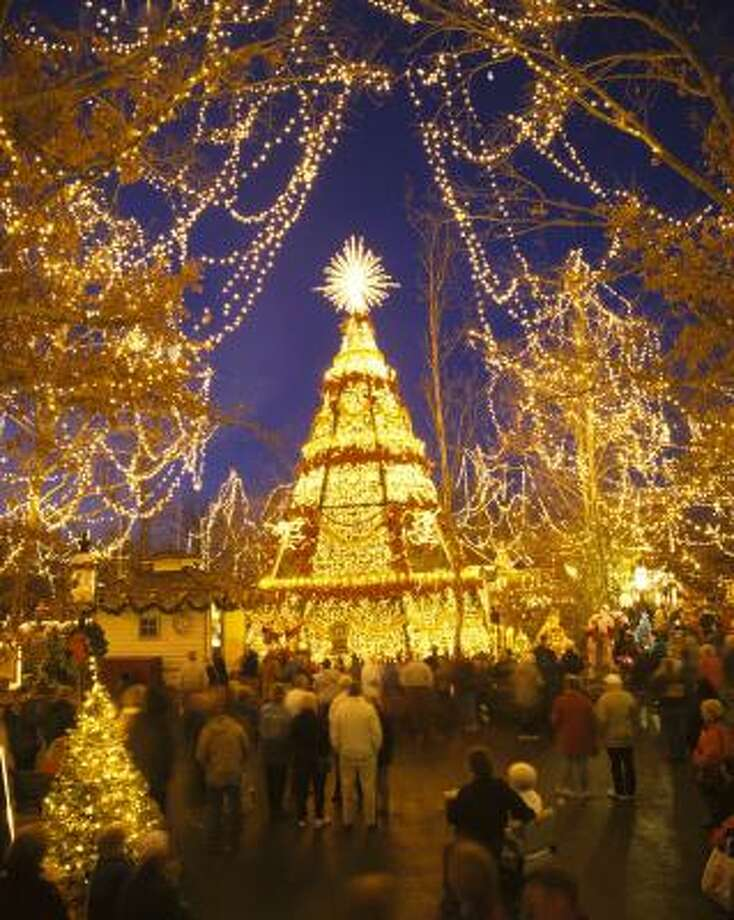 Silver Dollar City tops the list of best holiday light displays. Photo: SILVER DOLLAR CITY