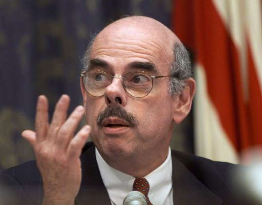 U.S. Rep. Henry Waxman (D-Calif.) did not like what he read in his Sunday New York Times. Photo: JOE MARQUETTE, AP