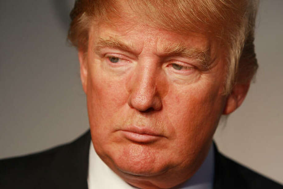 Real-estate tycoon and TV personality Donald Trump is a grumpy, egocentric, bombastic, brazen and boastful boss. Is that just for TV? Photo: Stephen Lovekin, Getty Images