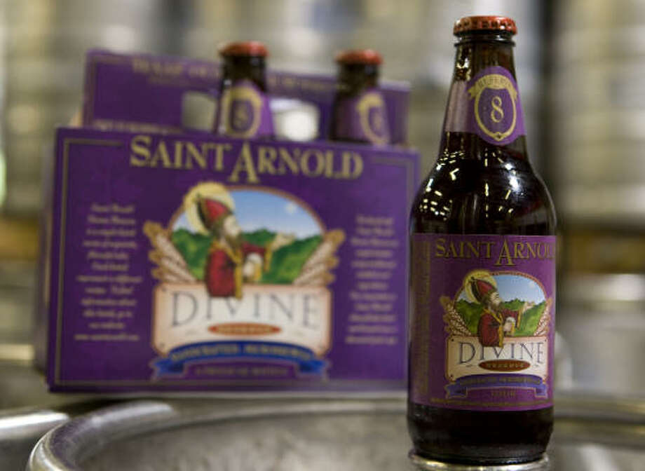 St. Arnold Divine Reserve No. 8 Photo: Brett Coomer, Chronicle