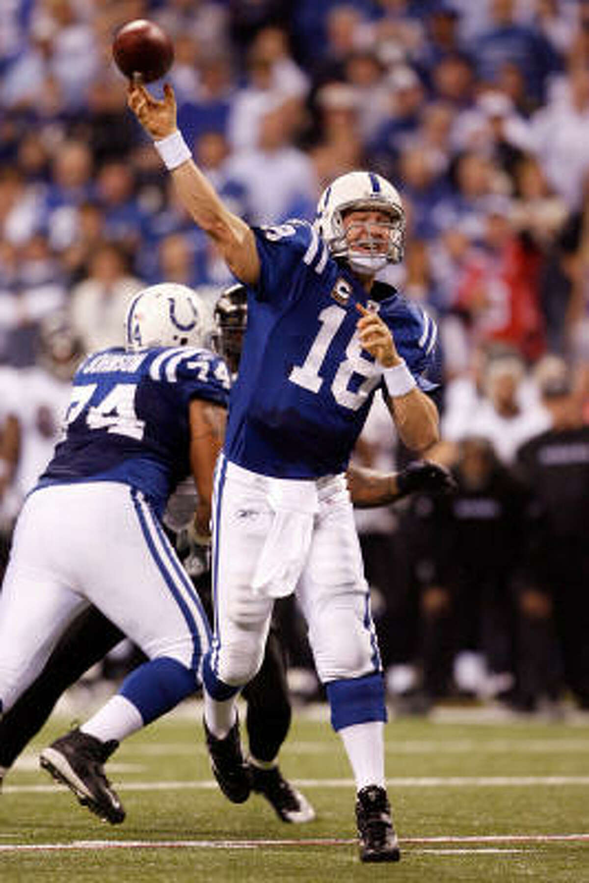 Since Peyton Manning became the Colts' starting quarterback as a rookie in 1998, 12 teams have started at least 13 different quarterbacks.