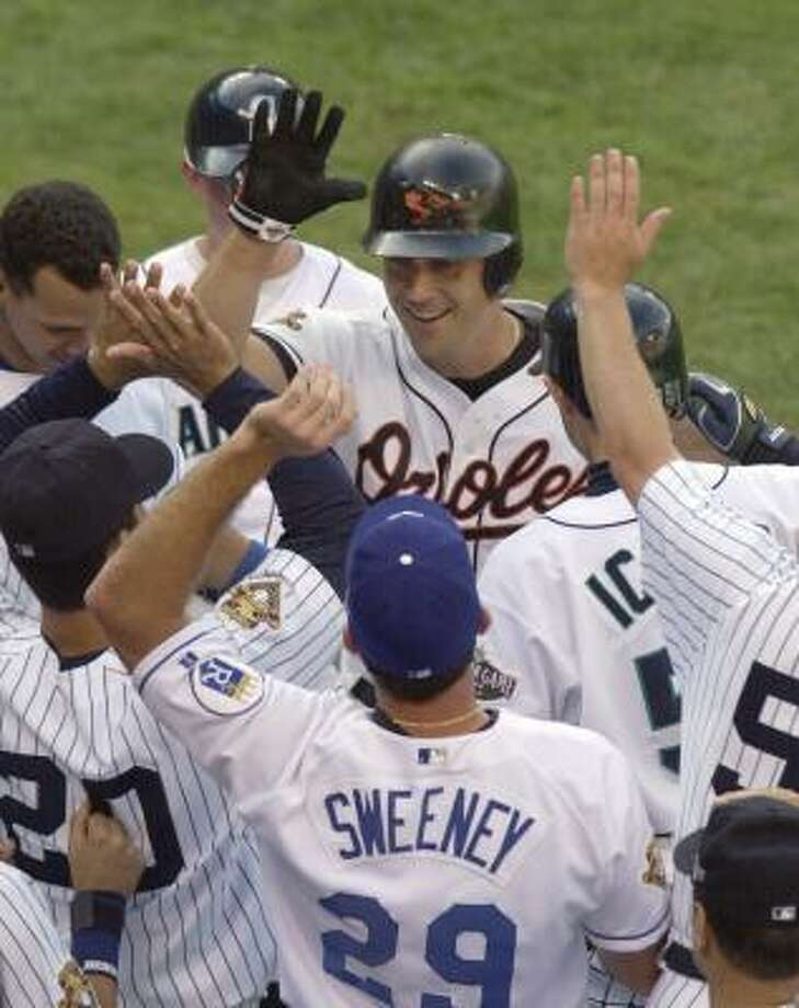Even among All-Stars, Cal Ripken Jr. had no peers. Photo: BOB GALBRAITH, AP