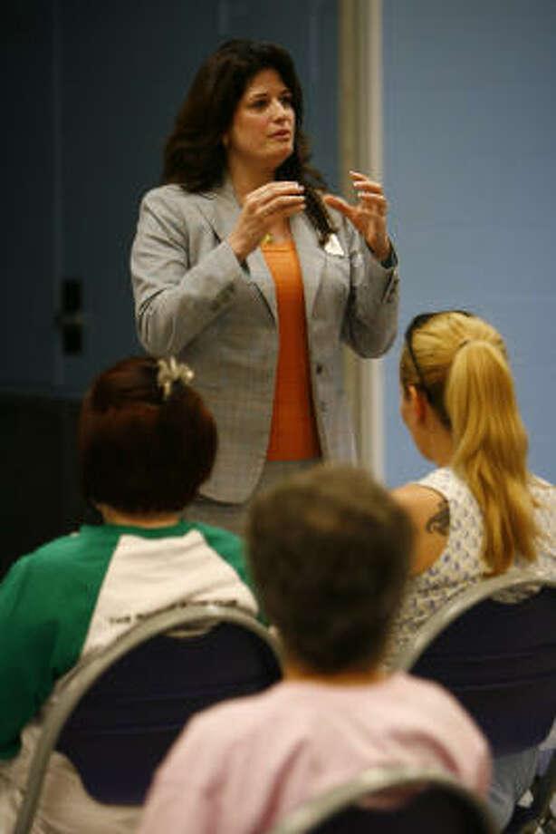 Houston Community College System Trustee: District III - Adriana Tamez Photo: Nick De La Torre, HOUSTON CHRONICLE