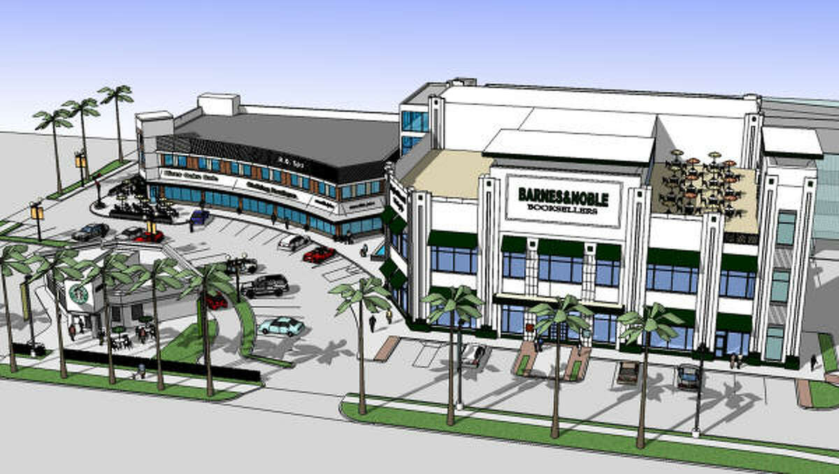 The River Oaks Shopping Center will have a new look unless plans change.