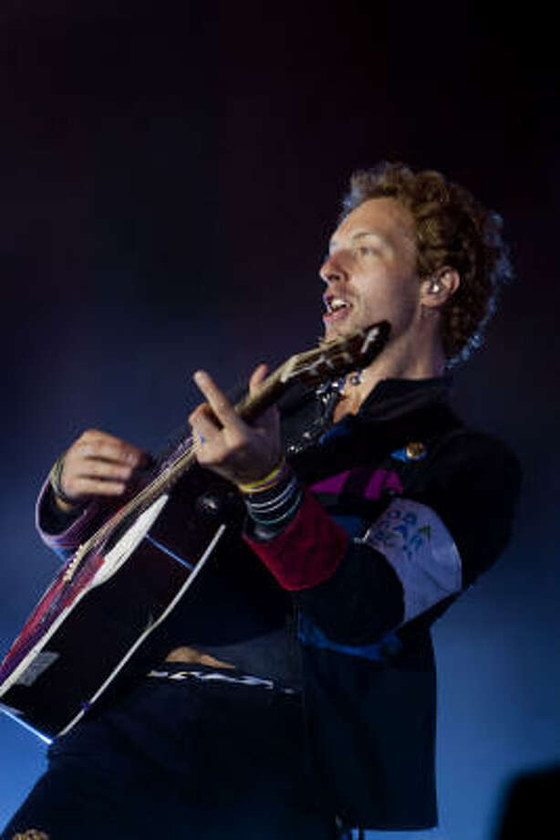 Coldplay comes to The Woodlands next week. Photo: Thorkild Amdi, AP