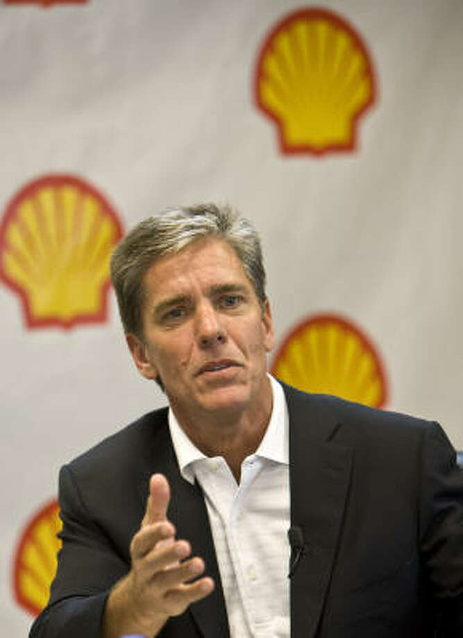 "Marvin Odum of Shell Oil Co. says Perdido helps the company ""push the boundary in terms of what's possible to bring reliable energy to this country."" Photo: James Nielsen :, Chronicle"