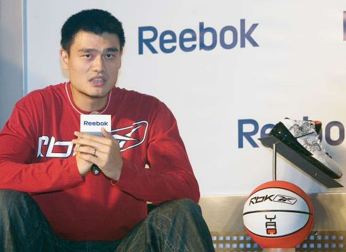 Yao Ming also has an endorsement deal with Reebok.
