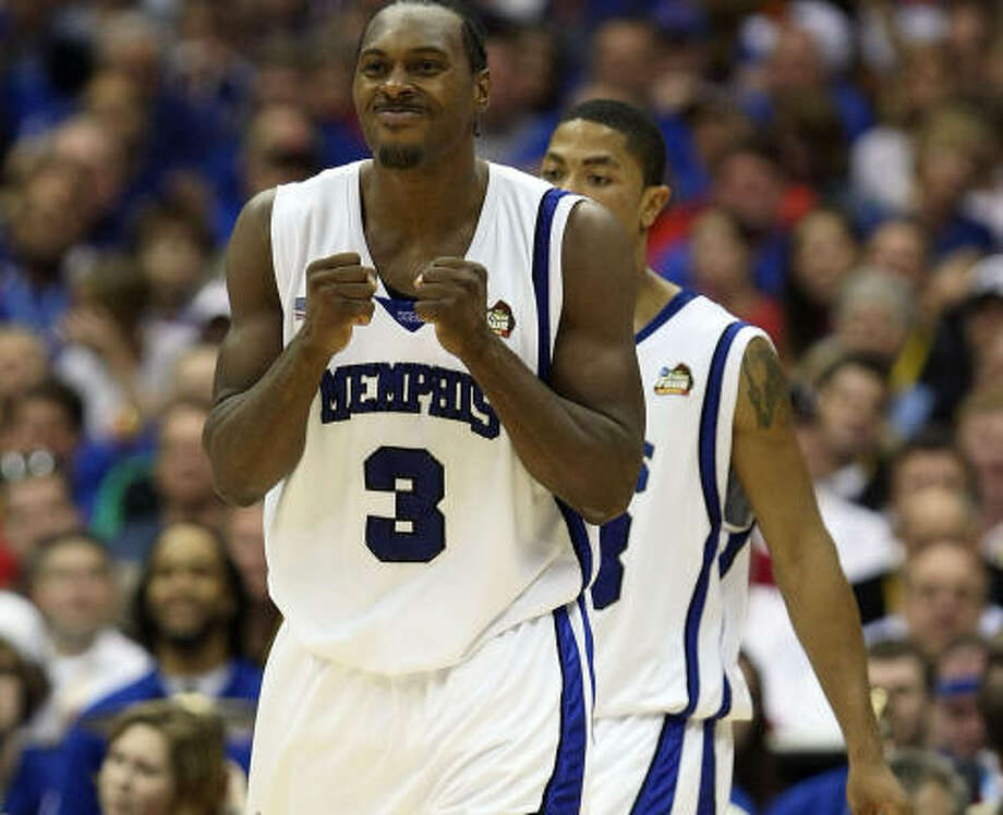 Joey Dorsey picked up his 126th win as a collegian with Memphis on Saturday night. Photo: Jed Jacobsohn, Getty Images