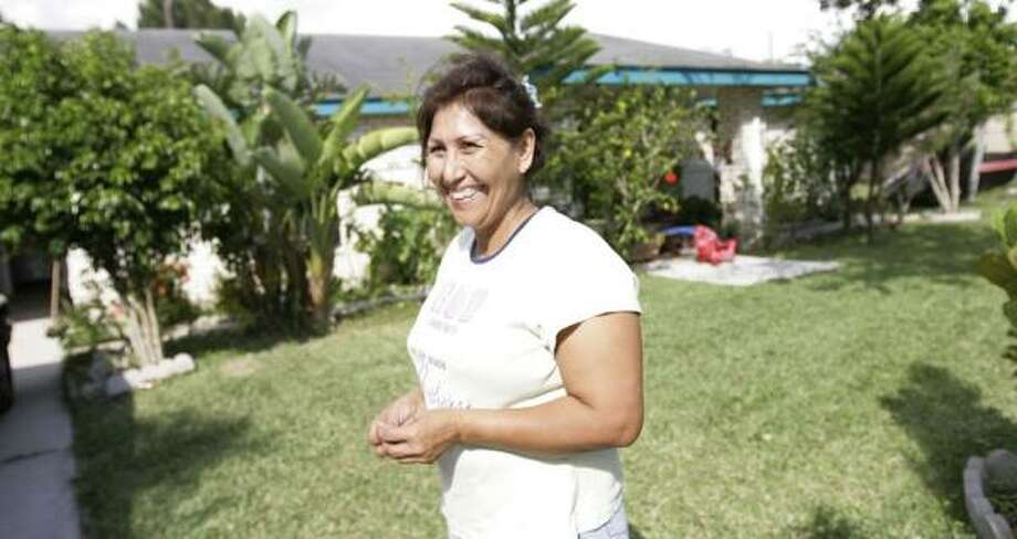 Maria Soto has worked with Valley Interfaith since the 1980s and credits the group for helping to rescue her family. Photo: JULIO CORTEZ, CHRONICLE