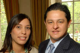 Wendy Montoya Rodrigues and City Councilman James Rodriguez