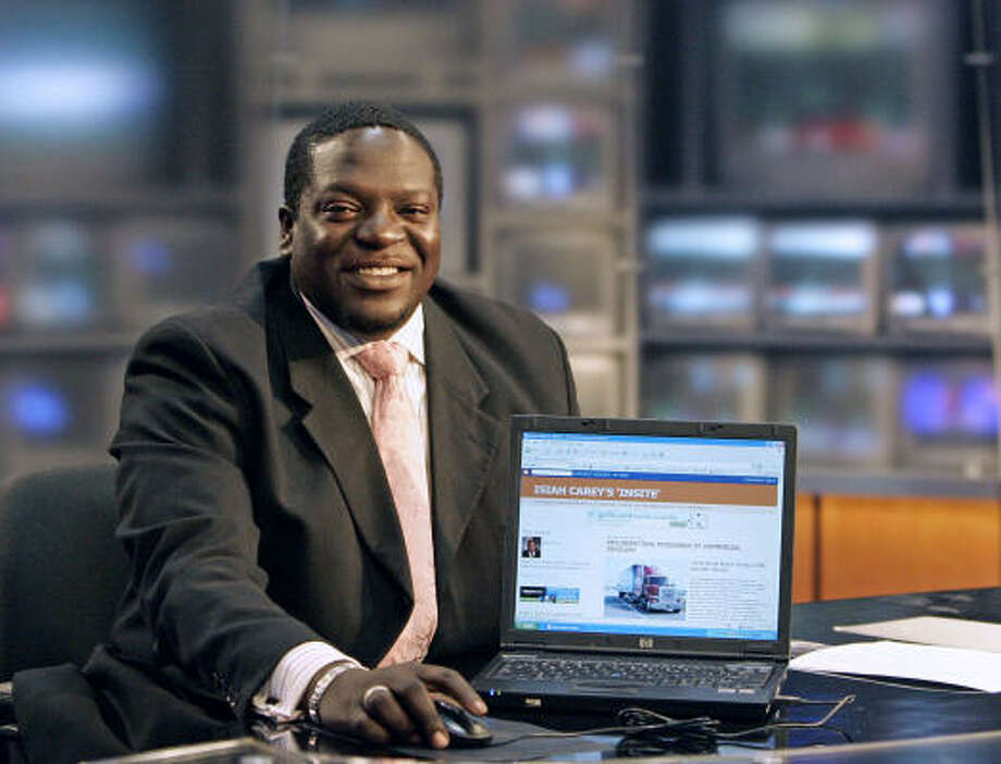 Isiah Carey is mainly a reporter, but he will occasionally fill in during the evening, night and weekend hours. Photo: Craig Hartley, For The Chronicle
