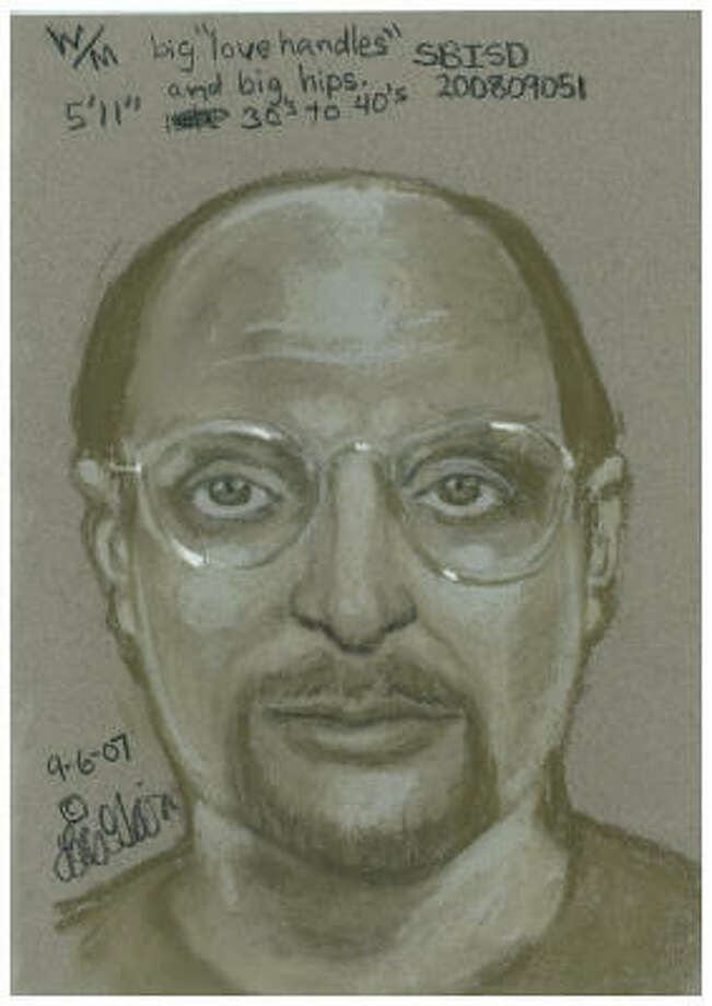 """Wonder what's worse: getting caught, or being described with """"big love handles"""" in your police sketch."""