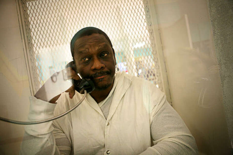 James Lewis Jackson, photographed last month at the Polunsky Unit in Livingston, says he's innocent of the murders he was convicted of, but says he's ready to be executed. Photo: ERIN TRIEB, FOR THE CHRONICLE