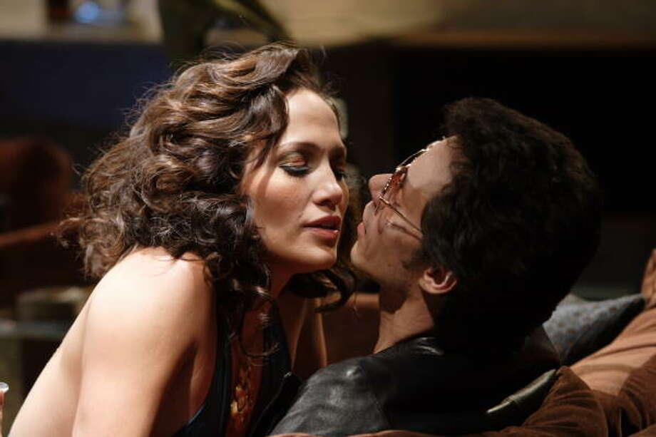 Jennifer Lopez (left) and Marc Anthony (right) star as Hector and Puchi Lavoe in El Cantante. Photo: Eric Liebowitz., Picturehouse Films