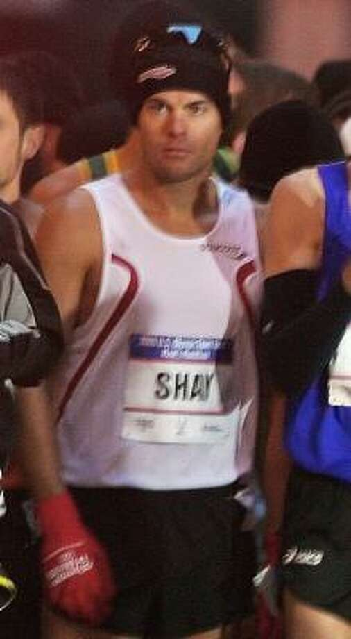 Regarded as a top marathoner, Ryan Shay died after collapsing about 5 1/2  miles into Saturday's race. Photo: SUZY ALLMAN, AP