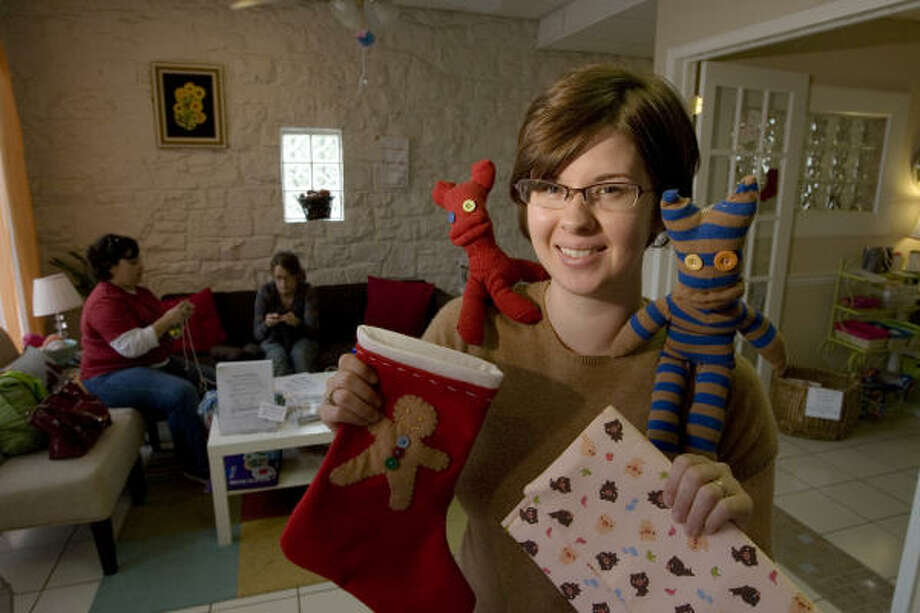 Sarah Gabbart is the owner of Sew Crafty, a craft store in the Heights Photo: Eric Kayne, Houston Chronicle