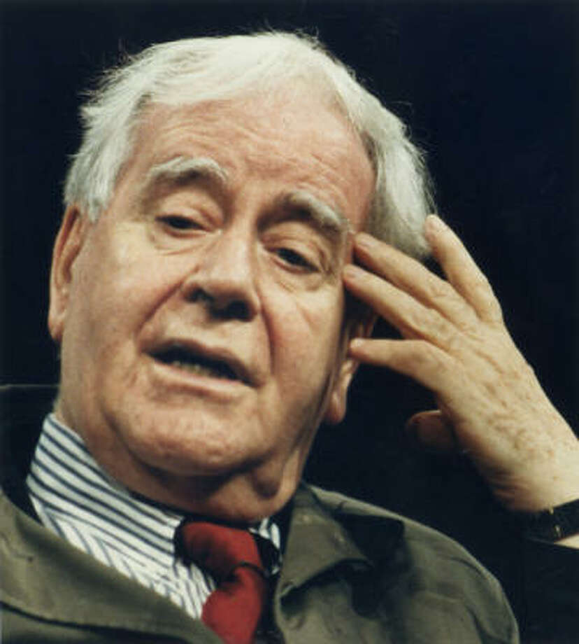 Horton Foote is an Oscar- and Pulitzer Prize-winning stage and screen writer. Photo: Houston Chronicle Files