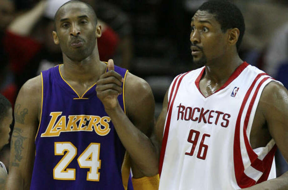 With Kobe Bryant and the Lakers up next, it's time for Ron Artest and the Rockets to get serious about winning another playoff series. Photo: Billy Smith II, Chronicle