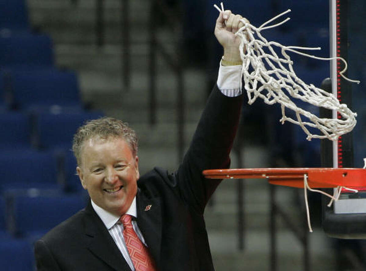 Houston is the fourth school to reach the NCAA Tournament under coach Tom Penders.
