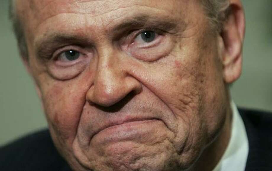 Fred Thompson will headline a rally at Hobby Airport today. Photo: Steve Helber, ASSOCIATED PRESS FILE