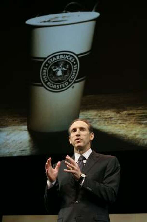 Starbucks Corp. Chairman and Chief Executive Howard Schultz. Photo: Ted S. Warren, AP