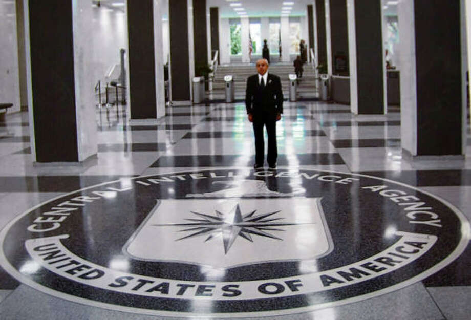 Roland Carnaby, who was fatally shot by Houston police after reaching for a shiny object in his car, claimed to be a CIA agent and had himself photographed at the agency's headquarters. Photo:  ., Courtesy Photo