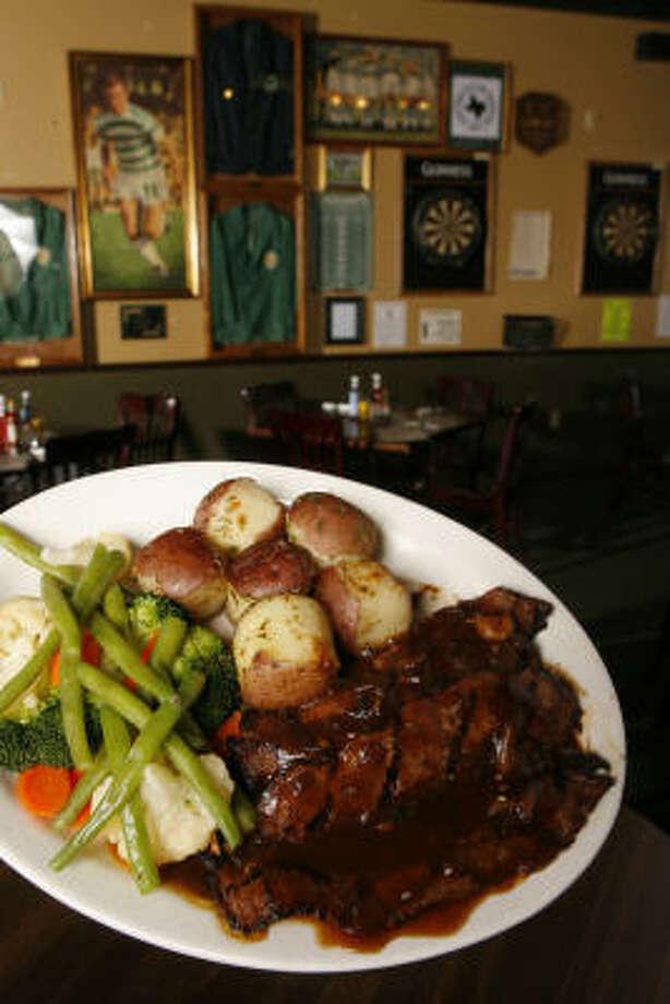 The Bull & Bear Tavern and EateryWhere: 11980 Westheimer RdPhone: (281) 496-6655Website: thebullandbear-tavernandeatery.com Photo: Steve Campbell, Chronicle