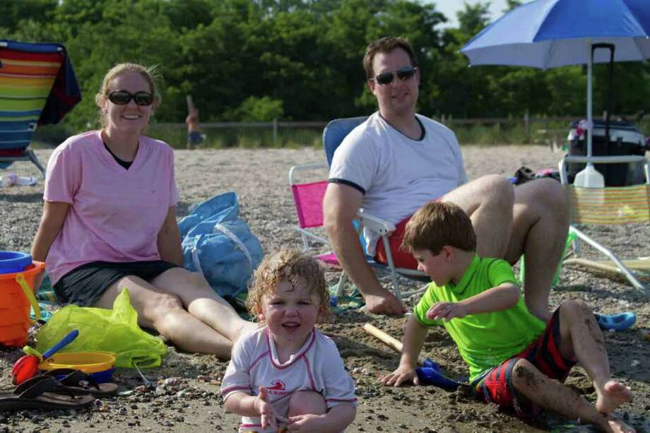 Fairfield Beaches, July 22nd and 23rd, 2011 Photo: Mike Dominguez / Hearst Connecticut Media Group