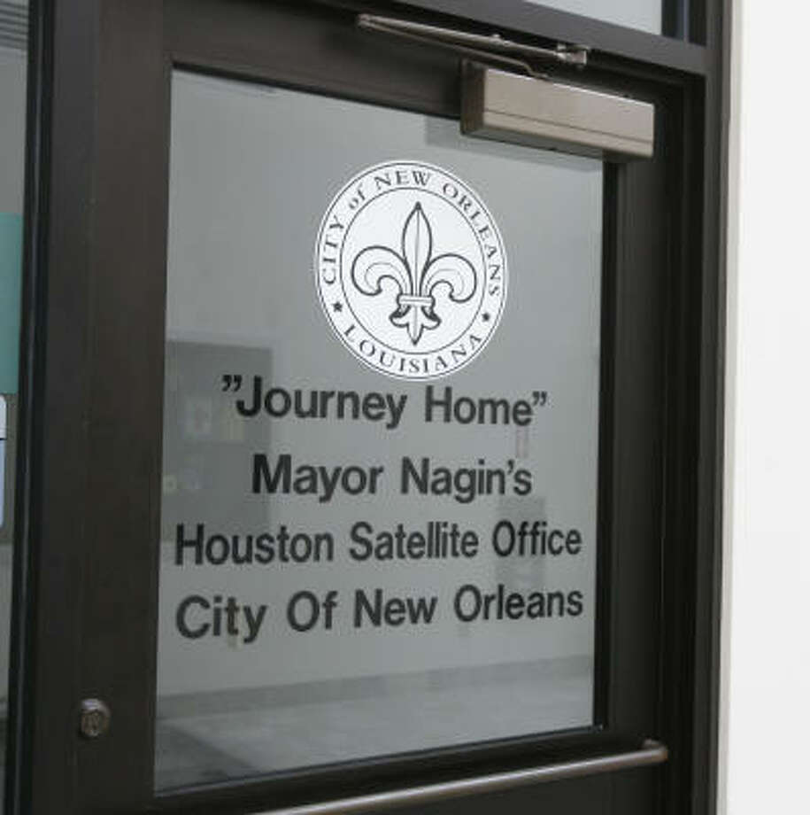 "New Orleans will open its ""Journey Home"" office Aug. 22 in Houston's Third Ward Multipurpose Center, 3611 Ennis. Photo: Billy Smith II, Chronicle"