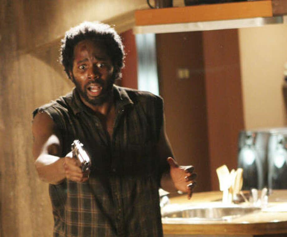 Michael (Harold Perrineau) participates in a dramatic turn of events on Lost, whose second season is now out on a seven-disc DVD. Photo: ABC