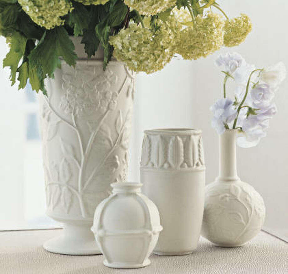 Victoria Hagan's vases, $7.99-$14.99, are now at Target. Photo: Krause, Target