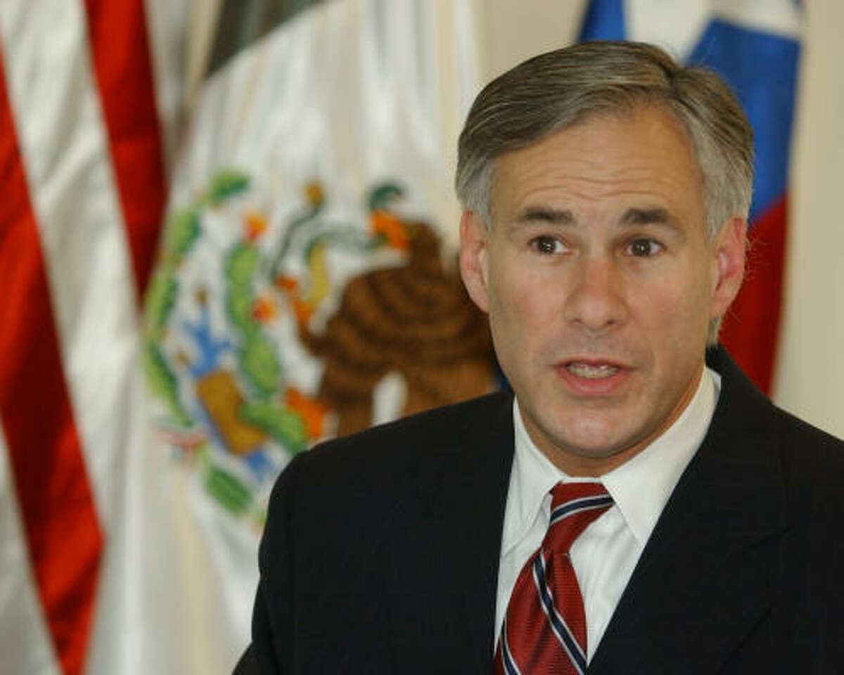 Attorney General of Texas Greg Abbott