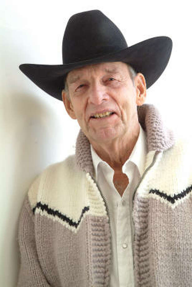Ray Fitzgerald's poems shift from comical to spiritual, but they're always about cowboying. Photo: Bruce Berman, For The Chronicle