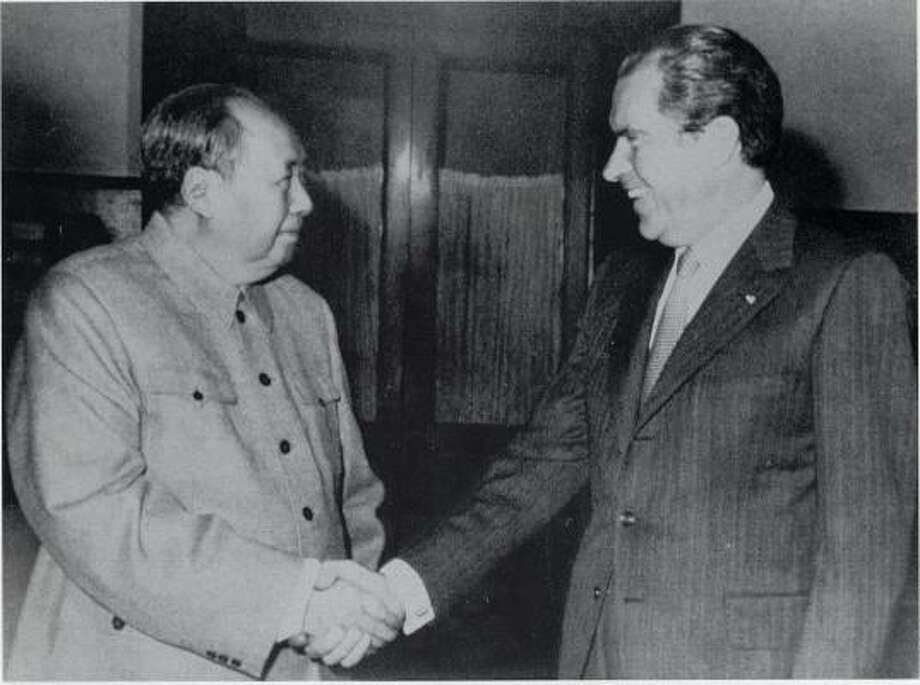 Mao Zedong and Richard Nixon's legendary meeting in 1972 created a stir, but the Cold War continued to limp on. Zedong is considered the founding father of the People's Republic of China, but he is also considered a harsh dictator, responsible for human rights abuses and millions of deaths. Photo: NATIONAL ARCHIVES
