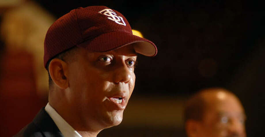 TSU athletic director Charles McClelland could play a huge role in helping the Dynamo receive a new stadium. Photo: Dave Rossman, For The Chronicle