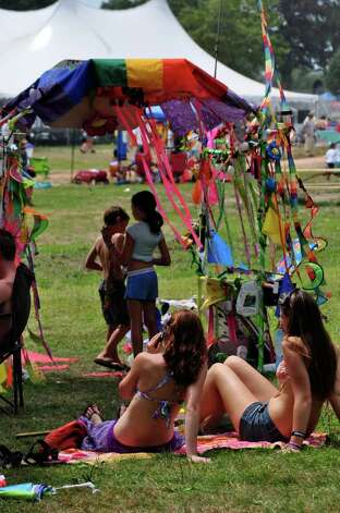 Gathering of the Vibes Day 3, July 23, 2011 Photo: Tebben Gill Lopez / Hearst Connecticut Media Group