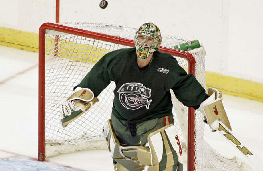 The Aeros face the Grand Rapids Griffins in their first home game of the season. Photo: Craig Hartley, For The Chronicle