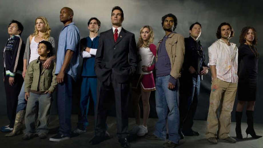 """The cast of NBC's """"must see hit"""" Heroes Photo: Mitch Haaseth, NBC"""