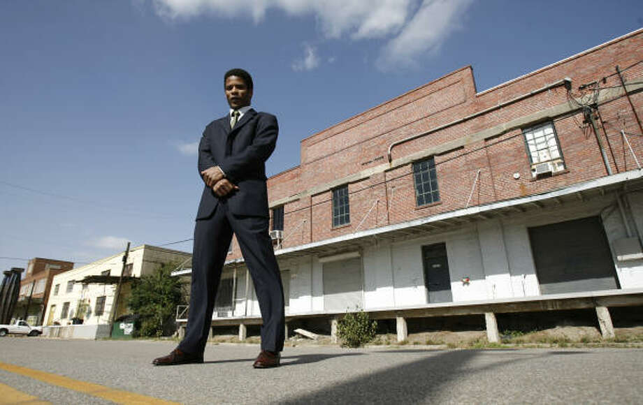 Clement Aldridge III and the Commerce Street Arts Foundation are trying to save this warehouse and other historic structures. Photo: KAREN WARREN, Chronicle